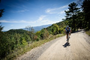 Riders are tested by Fultz Gap Road's 3 miles with 1,600 feet of elevation gain.